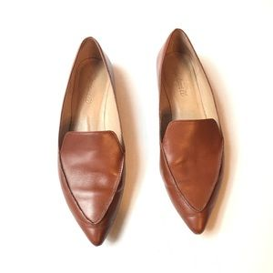 Madewell Lou Leather Flats